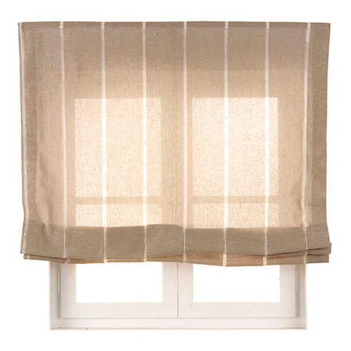 Estor plegable lino bolonia 90x175 cm