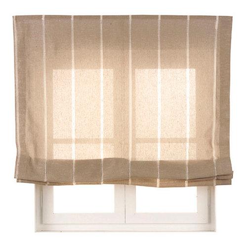 Estor plegable lino bolonia 180x175 cm