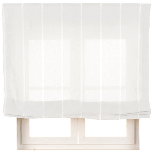 Estor plegable blanco bolonia 135x250 cm
