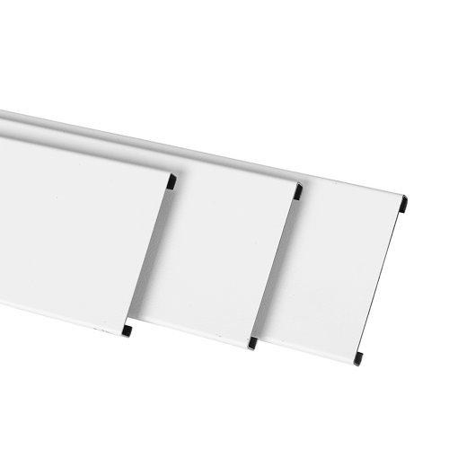 Jamba pvc blanco 7x220x0,8 cm
