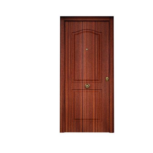 Puerta de entrada metálica saga sapelly izquierda de 90x210 cm