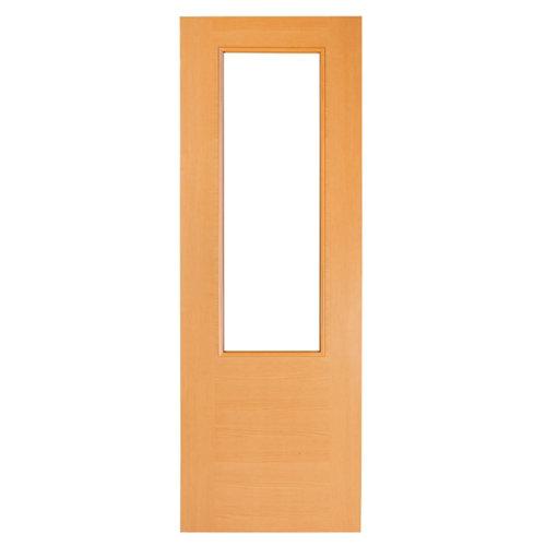 Puerta de interior corredera canarias haya de 82.5 cm