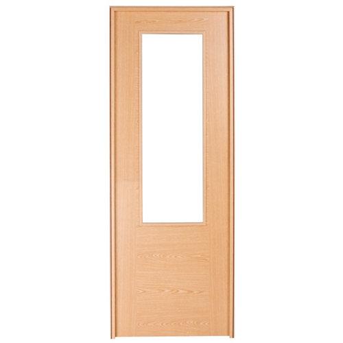 Puerta de interior corredera canarias roble de 72.5 cm