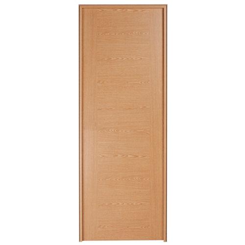 Puerta de interior corredera canarias roble de 82.5 cm