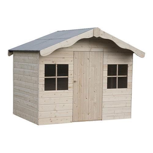Caseta infantil de madera aurelie 202x159x158 cm
