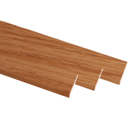 Kit de 3 molduras mdf roble 70 x 10 mm