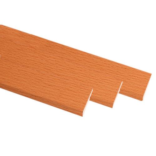 Kit de 3 molduras mdf haya 70 x 10 mm