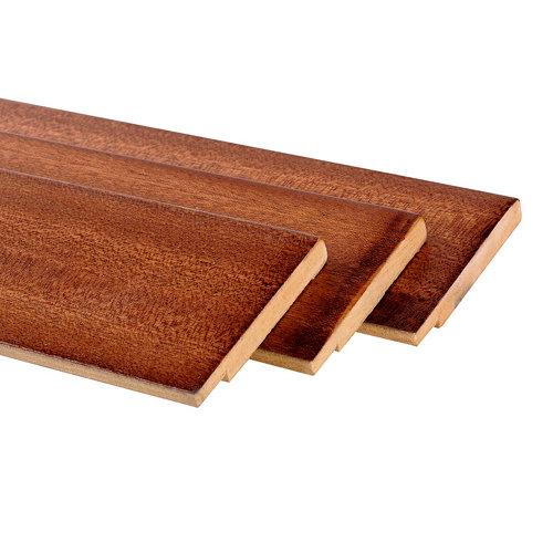 Pack de 3 molduras mdf sapelly 70 x 10 mm
