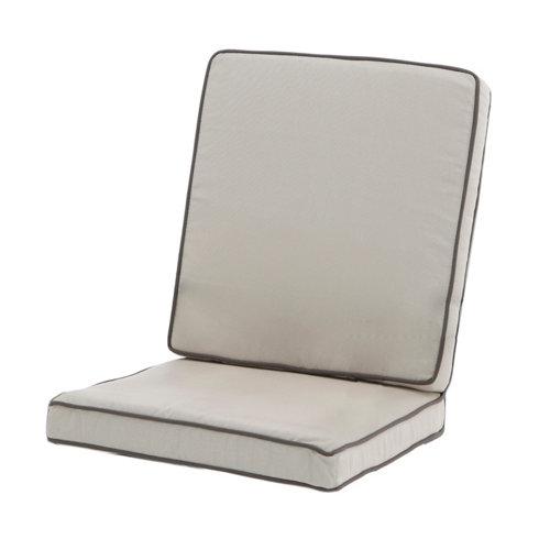 Cojín de exterior silla naterial roma tostado