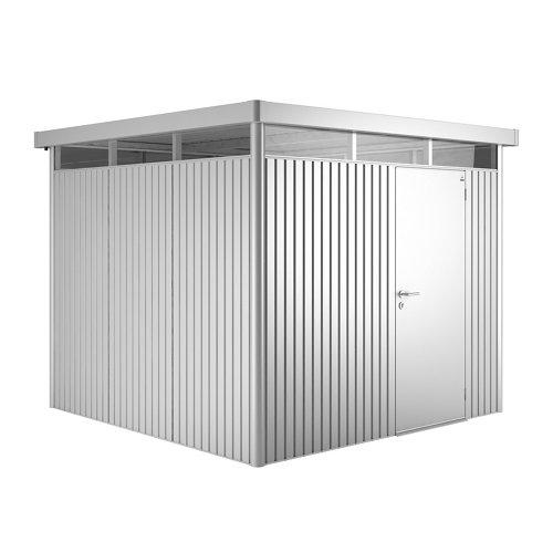 Caseta de metal h4 standard de 275x222x275 cm y 7.56 m2