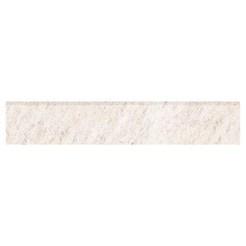 Rodapié serie quarzite 8x45 cm blanco