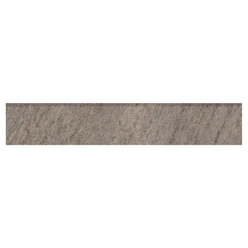 Rodapié serie quarzite 8x45 cm gris