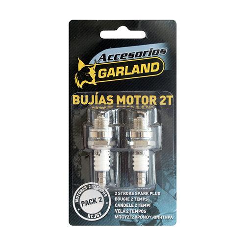 Bujías para motor de 2 tiempos corta 14 mm