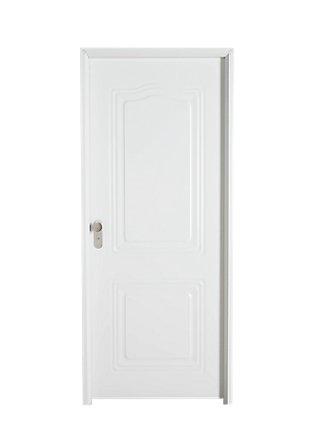 Puerta metálica dcha de acero y 200x93 cm
