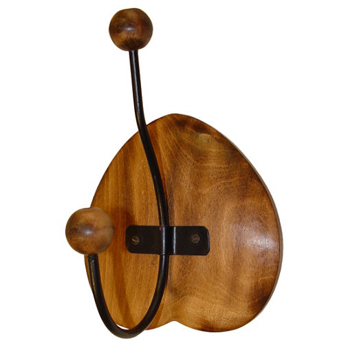 Colgador colgar de madera de 13x19x9.7 cm