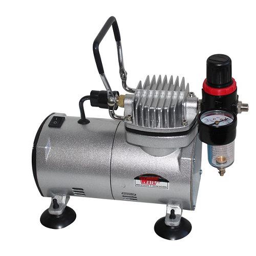 Compresor sin aceite wuto 7919 ca de 0.5 cv y 0l de depósito