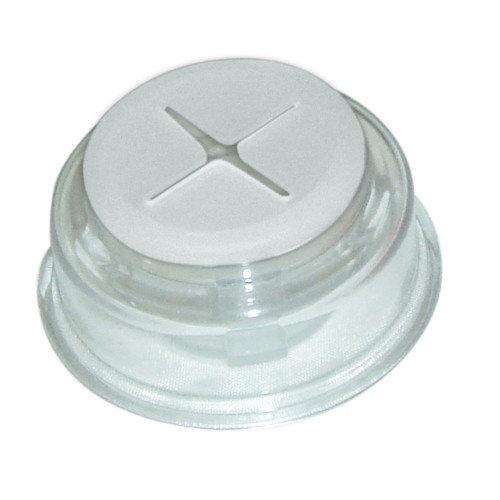 Cuelga trapos de plástico de 5,4x5,4x2 cm