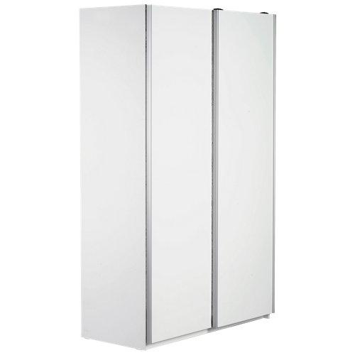 Puerta corredera de armario mallorca blanco de 60x228 cm