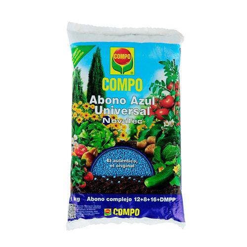 Abono azul universal compo novatec para todo tipo de plantas 1kg