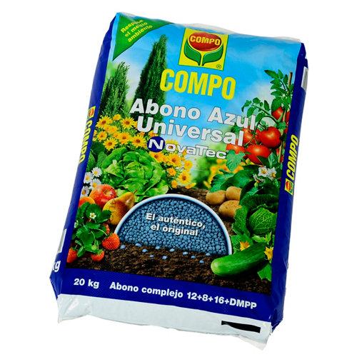 Abono azul universal compo novatec para todo tipo de plantas 20kg
