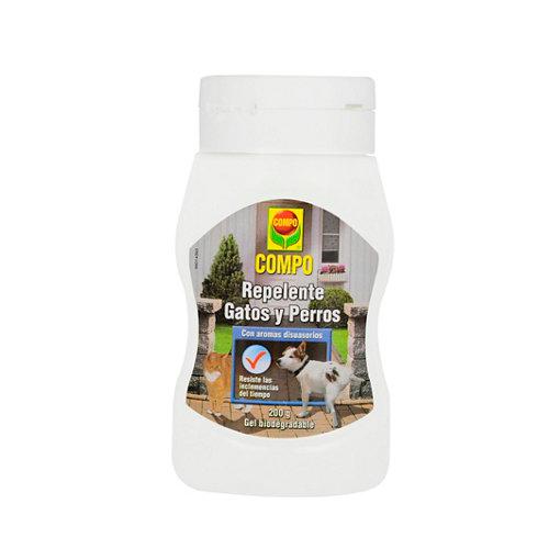 Repelente para perros y gatos gel compo con aromas disuasorios 240gr