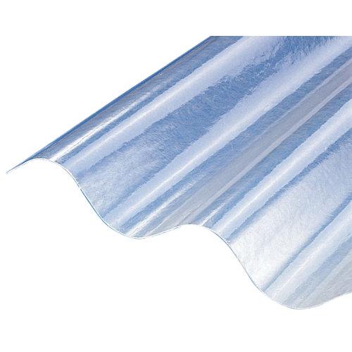 Placa de poliéster gran onda 920x2500x7 mm