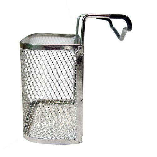 Porta estropajo de acero inoxidable y independiente