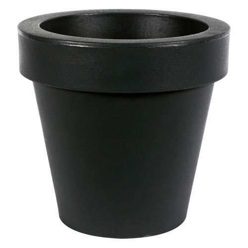 Maceta de polietileno newgarden negro 45x43 cm