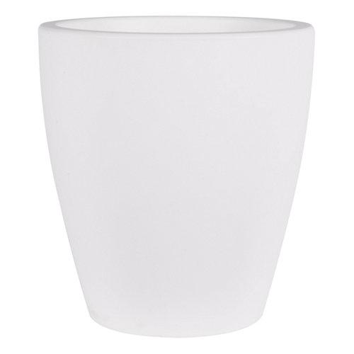 Maceta de polietileno newgarden blanco 40x43 cm