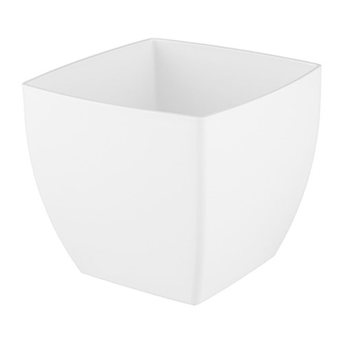 Maceta cuadrada siena blanco 40x40x36cm