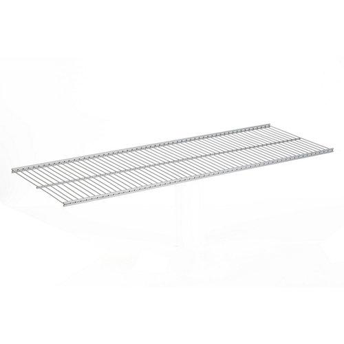 balda para estantería metálica de rejilla de 2x80x30 cm