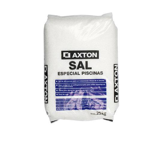 Saco de sal granulada para cloración salina axton 25 kg