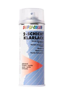 Spray barniz acrílico bicapa para coches 0,4L