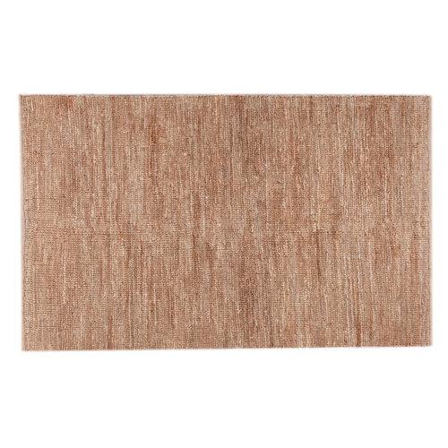 Alfombra amarilla yute yute ubeda nt 80 x 150cm