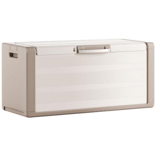 Baúl de resina de 55x118x49 cm y capacidad de 300l