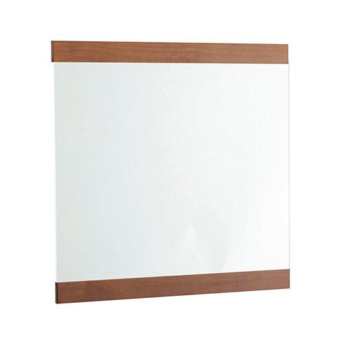 Espejo de baño alba marrón 80 x 80 cm