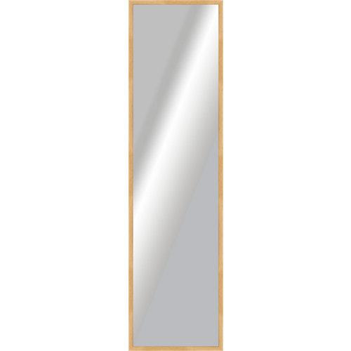 Espejo rectangular basic roble 160.2 x 40.2 cm