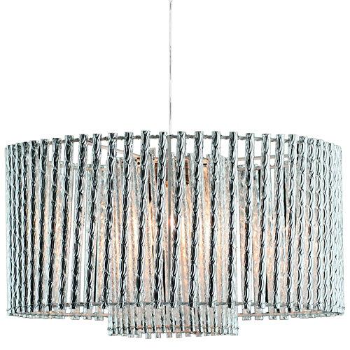 Lámpara de techo salomon cromo d50 cm