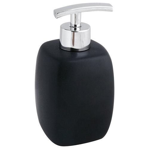 Dispensador de jabón faro negro mate