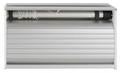 Kit persiana de PVC DELINIA 60x130x33 cm gris · LEROY MERLIN