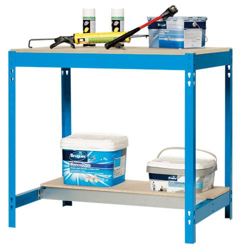 Mesa de trabajo bt0 90 azul