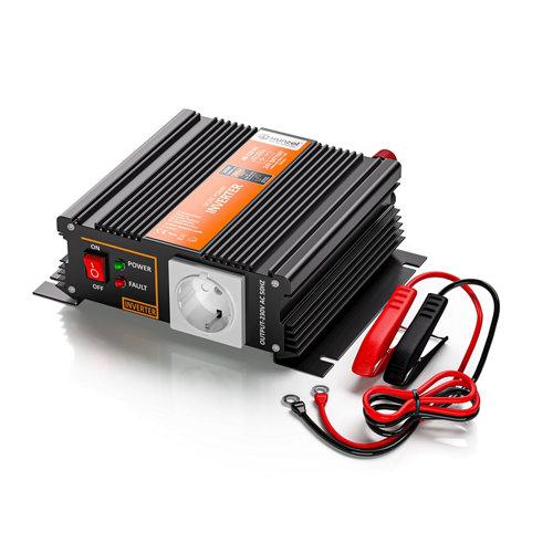 Inversor de onda modificada mj-xunzel-500w-24v con cables incluidos