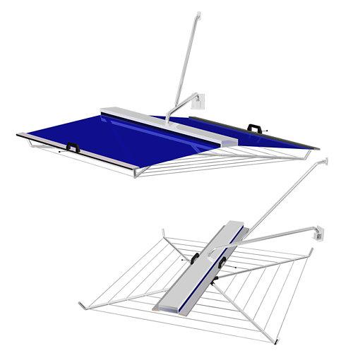 Tendedero de exterior de paraguas de 130x130 cm