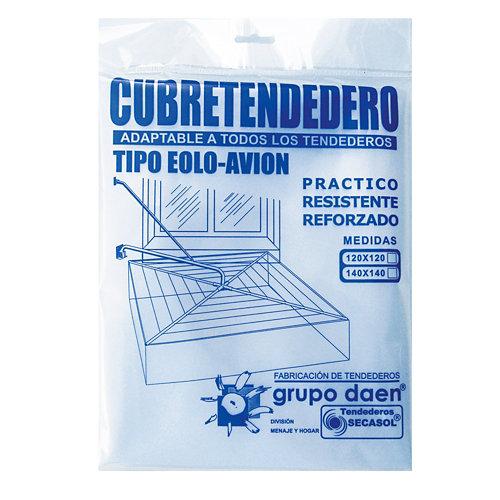 Protector para tendido de ropa de plástico de 120x cm