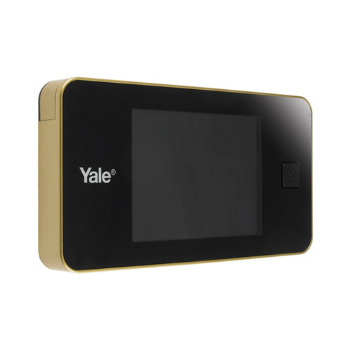 Mirilla digital mod 4316 con pantalla lcd dorado