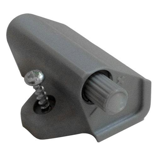 Amortiguador para puerta de interior de mueble en plástico y 50x30 mm