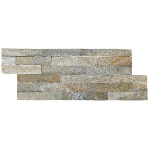 Piedra natural petra beige 15x40 cms