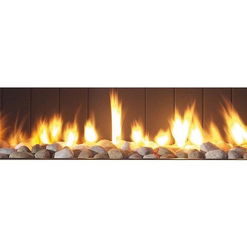 Revestimiento de chimenea hergom kit guijarros mg 38/63