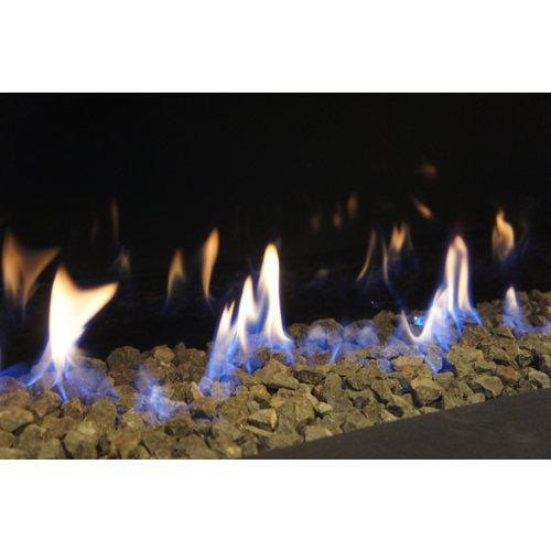 Revestimiento de chimenea kit de basalto hergom 120/38