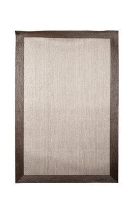 Alfombra color beige pvc Cenefa 120 x 180cm · LEROY MERLIN